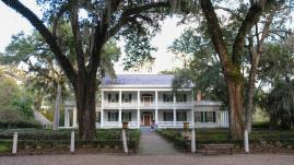 Tour the main residence and gardens at Rosedown State Historic Site