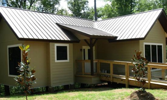 Bogue Chitto State Park - The cabins offer a bit of comfort, for those not keen on 'roughing it'