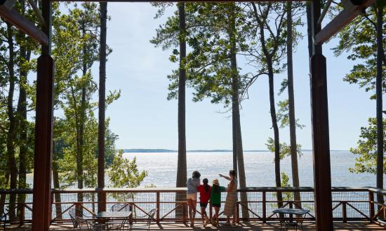 Take in the lake views at South Toledo Bend State Park