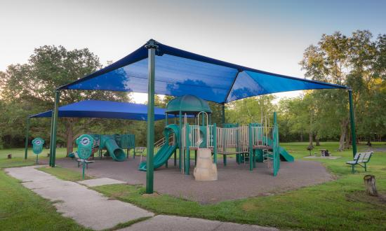 There are plenty of safe play spaces for kids at St. Bernard State Park