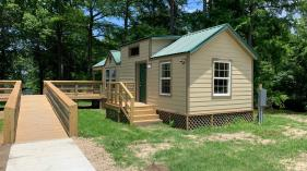 Lake Bruin State Park cabins