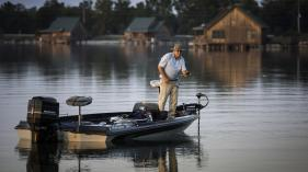 Enjoy world-class fishing a Poverty Point Reservoir State Park